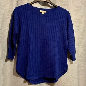 Royal Blue Dana Buchman Sweater